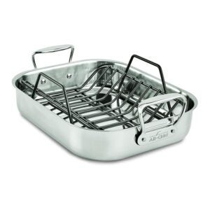 The Best Roasting Pan Option: All-Clad Stainless Steel E752S264 Roaster