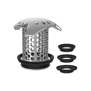 最好的淋浴排水夹具选项:Lekeye排水夹具不锈钢排水板过滤器