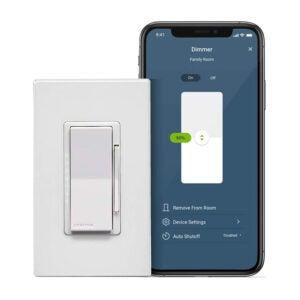 The Best Smart Dimmer Switch Option: Leviton D26HD-2RW Decora Smart Wi-Fi Dimmer (2nd Gen)