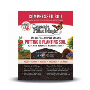 The Best Soil for Raised Beds Option: Organic Plant Magic Compressed Organic Potting-Soil