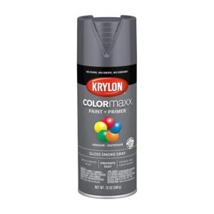 The Best Spray Paint for Metal Option: Krylon K05539007 COLORmaxx Spray Paint and Primer