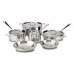 The Best Stainless-Steel Cookware Option: All-Clad D3 Stainless Cookware Set