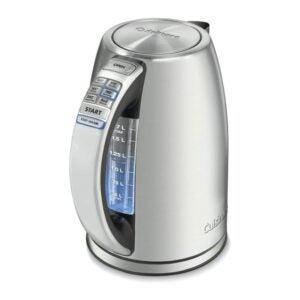 The Best Tea Kettle Option: Cuisinart CPK-17 PerfecTemp 1.7-Liter Electric Kettle