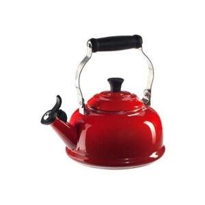 The Best Tea Kettle Option: Le Creuset Enamel On Steel Whistling Tea Kettle