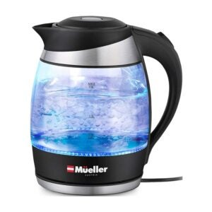 The Best Tea Kettle Option: Mueller Premium 1500W Electric Kettle with SpeedBoil