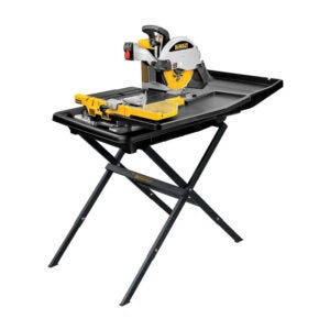 The Best Tile Cutter Option: DEWALT Wet Tile Saw with Stand