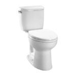 The Best Toilet Option: TOTO Entrada Two-Piece Round Universal Height Toilet