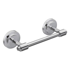 The Best Toilet Paper Holder Option: Moen Iso Collection Double Post Modern Pivoting