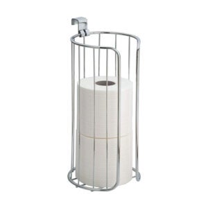 The Best Toilet Paper Holder Option: iDesign Classico Metal Toilet Paper Reserve