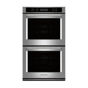 The Best Wall Oven Option: KitchenAid 30 Double Electric Convection Wall Oven