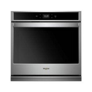 最佳壁式烤箱选择:惠而浦30英寸。单壁电炉