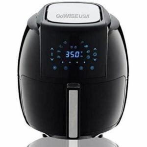 最佳空气炸锅选择:GoWISE USA 1700-Watt 5.8-QT 8-in-1数字空气炸锅
