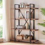 The Best Bookshelves Option: HSH Solid Wood Bookshelf