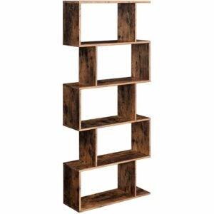 The Best Bookshelves Option: VASAGLE Wooden Bookcase