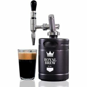 The Best Cold Brew Coffee Maker Option: Royal Brew Nitro Cold Brew Coffee Maker Home Keg Kit