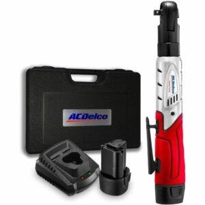 The Best Cordless Ratchet Option: ACDelco ARW1201 G12 Series 12V Cordless Ratchet Kit