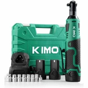 The Best Cordless Ratchet Option: KIMO Cordless Electric Ratchet Wrench