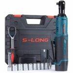 The Best Cordless Ratchet Option: S-LONG Cordless Electric Ratchet Wrench Set