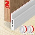 The Best Door Draft Stopper Option: Holikme 2 Pack Door Draft Stopper