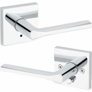 The Best Door Handles Option: Kwikset 91550-023 Lisbon Door Handle Lever