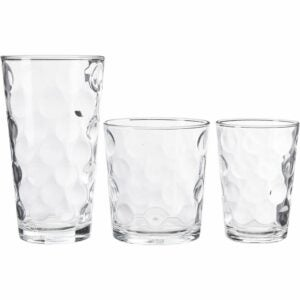 The Best Drinking Glasses Option: Home Essentials Galaxy Glassware 12-pc. Set
