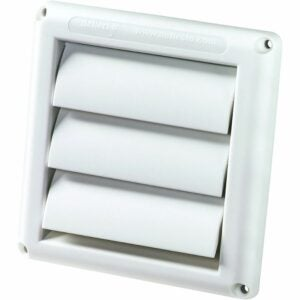 The Best Dryer Vent Option: Deflecto Supurr-Vent Louvered Outdoor Dryer (HS4W/18)
