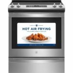 The Best Electric Range Option: GE 30 in. 5.3 cu. ft. Electric Range and Air Fry