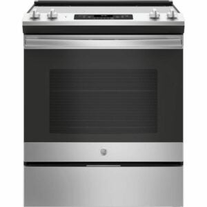 The Best Electric Range Option: GE 30 in. 5.3 cu. ft. Slide-In Electric Range