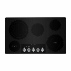 The Best Electric Range Option: KitchenAid 36 in. Radiant Electric Cooktop