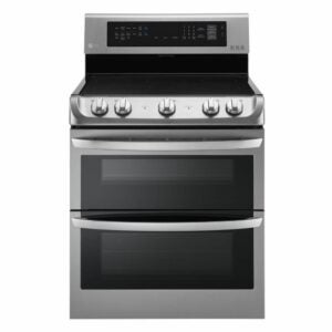 The Best Electric Range Option: LG 7.3 cu. ft. Double Oven Electric Range