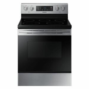 The Best Electric Range Option: Samsung 30 in. 5.9 cu. ft. Electric Range