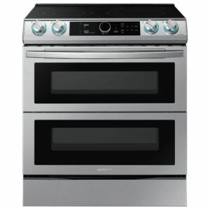 The Best Electric Range Option: Samsung 30 in. 6.3 cu. ft. Flex Duo Slide-In Electric