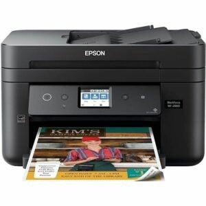 The Best Fax Machine Option: Epson Workforce WF-2860 All-in-One Wireless Printer