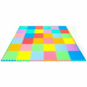 The Best Floor Mats for Kids Option: ProSource Kids Foam Puzzle Floor Play Mat