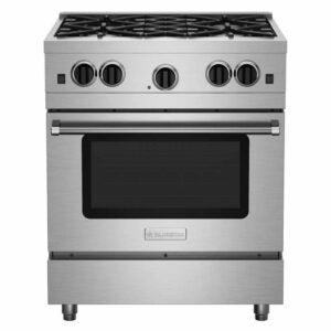 "The Best Gas Range Option: BlueStar 30"" Culinary Series Sealed Burner Range"