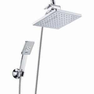 The Best Handheld Shower Head Option: Bright Showers Rain Shower Head with Handheld Spray