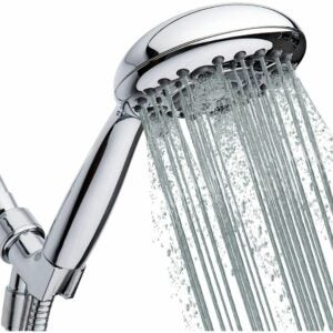 The Best Handheld Shower Head Option: Lokby High-Pressure Handheld Shower Head