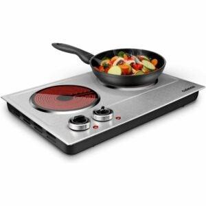 The Best Hot Plate Option: CUSIMAX 1800W Ceramic Electric Hot Plate