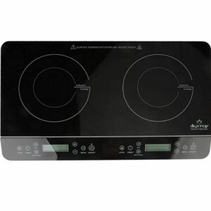 The Best Hot Plate Option: Duxtop LCD Portable Double Induction Cooktop