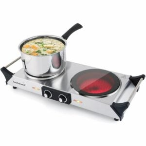 The Best Hot Plate Option: Techwood Double Infrared Ceramic Hot Plate
