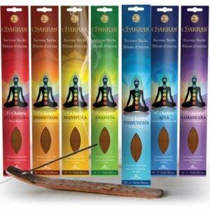The Best Incense Option: Chakras Incense Sticks Variety Set