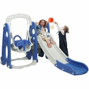 The Best Indoor Playground for Kids Option: Bahom 3 in 1 Climber Slides Playset