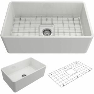 The Best Kitchen Sinks Option: BOCCHI 1138-001-0120 Classico Apron Front Fireclay