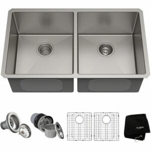 The Best Kitchen Sinks Option: Kraus Standard PRO Undermount Stainless Steel