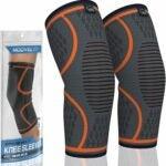 最好的膝盖套筒选项:Modvel 2包膝盖压缩套筒