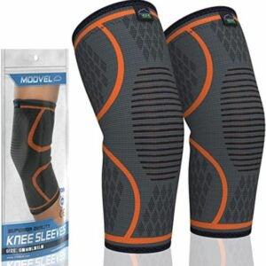 The Best Knee Sleeves Option: Modvel 2 Pack Knee Compression Sleeve