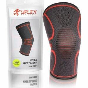 The Best Knee Sleeves Option: UFlex Athletics Knee Compression Sleeve