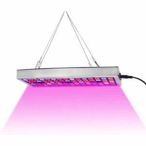 The Best LED Grow Lights Option: Juhefa LED Grow Lights, Full Spectrum Panel Grow Lamp