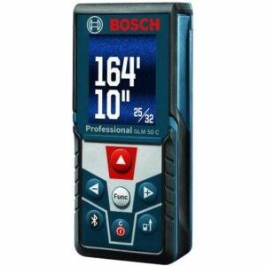 The Best Laser Measure Option: Bosch Blaze GLM 50 C Bluetooth Laser Distance Measure