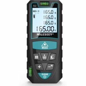 The_Best_Laser_Measure_RockSeed Laser Measure, Mileseey 165 Feet Digital